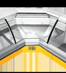 Холодильная витрина Sorrento-УВ (угловой...