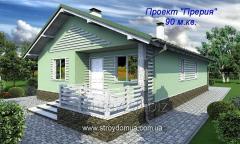 Быстровозводимый дом Харьков, проект