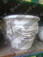 Медуза ваза, форма вазона, кашпо из бетона,