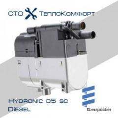 Жидкостный автономный отопитель Eberspacher Hydronic D5 SС Comfort +монтажный комплект