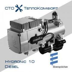 Жидкостный автономный отопитель Eberspacher Hydronic 10 12V/24V +монтажный комплект.