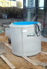 Сепараторы Linberg для очистки сточных вод от нефтепродуктов
