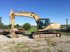 Caterpillar Case CX180B excavator.