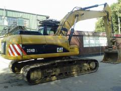 Caterpillar CAT 324D Excavator.