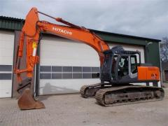 Caterpillar Hitachi ZX280LC-3 excavator.