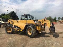 Telescopic loader of CAT TH360B.