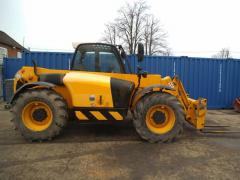 Telescopic loader of JCB 531-70.