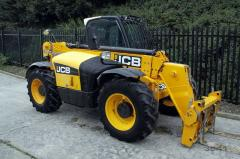 Telescopic loader of JCB 535-95.