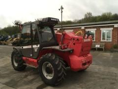 Telescopic loader of Manitou MLT 845-120 LSU.
