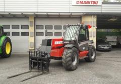 Telescopic loader of Manitou MLT845-120 LSU.