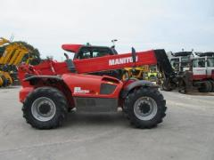 Telescopic loader of Manitou. Second-hand telescopic loader.