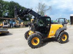 Second-hand telescopic loader of JCB, 5.5 m.