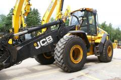 JCB 457 HT wheel loader.