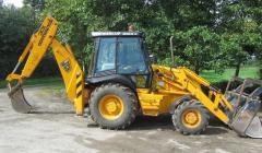 JCB 3CX excavator loader.
