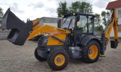 Terex 820 excavator loader.