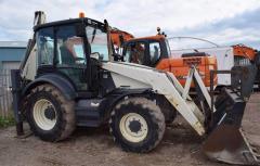 Terex 860 SX excavator loader