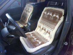 Automobile capes on sitting from ACh6 sheepskin