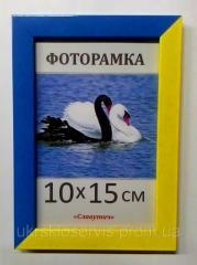 Фоторамка пластиковая 10*15, 1611-к