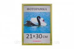Фоторамка пластиковая 21х30,  А4,  1411-3