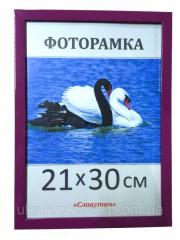 Пластиковая фоторамка А4, 21х30, 1611-81