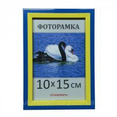 Фоторамка пластиковая 10х15, 1611-100