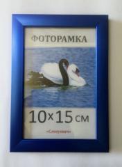 Фоторамка пластиковая 10х15, 1611-38