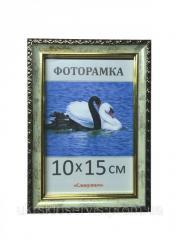 Фоторамка пластиковая 10х15, 1713-1