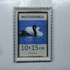 Фоторамка пластиковая 10х15, 1713-14
