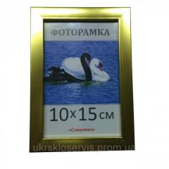 Фоторамка пластиковая 10х15, 1611-18
