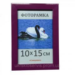 Фоторамка пластиковая 10х15, 1611-81