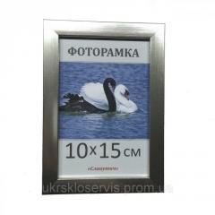 Фоторамка пластиковая 10х15, 1611-32