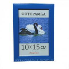 Фоторамка пластиковая 10х15, 1611-66