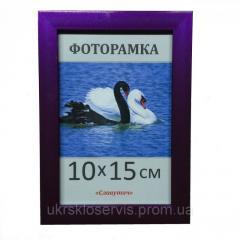 Фоторамка пластиковая 10х15, 1611-68