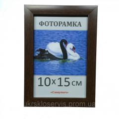 Фоторамка пластиковая 10х15, 1611-33