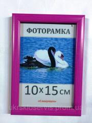 Фоторамка пластиковая 10х15, 167-13