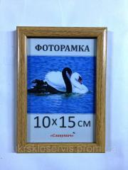 Фоторамка пластиковая 10х15, 167-603