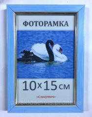 Фоторамка пластиковая 10х15, 166-79