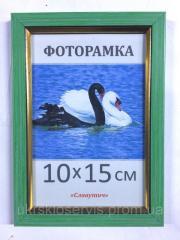 Фоторамка пластиковая 10х15, 166-83