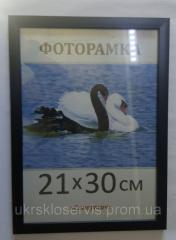 Фоторамка пластиковая черная А3, 1611-101-8