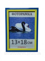 Фоторамка пластиковая 13*18, 1611-100