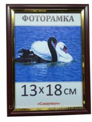 Фоторамка пластиковая 13*18, 1512-124