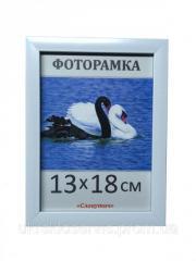 Фоторамка пластиковая 13*18, 1611-14