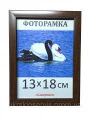 Фоторамка пластиковая 13*18, 1611-33