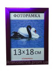 Фоторамка пластиковая 13*18, 1611-37