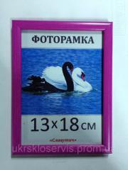 Фоторамка пластиковая 13*18, 167-13