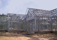 Hangars, Warehouse, the Fast-mounted buildings, a
