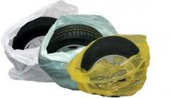 Bags from polyethylene for packaging of autotires,
