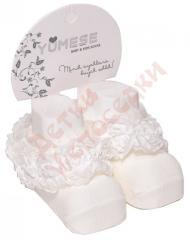 Носки для новорожденных Украшенные розами Yumese,