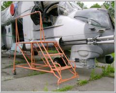 Step-ladder aviation STS-600-2