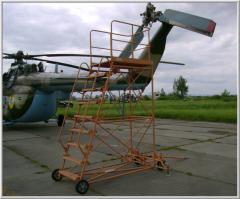 Step-ladder aviation STU-3000